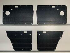 Nissan GQ Y60 PATROL Manual Window. Rugged Waterproof ABS Door Panels - Black