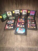 Sega Genesis Loose Cart Game Lot of 15 Cart ONLY