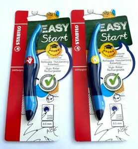 Stabilo Easystart Handwriting Pen - Left Or Right Handed Colour Dark/Light Blue