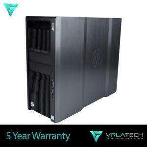 HP Z840 Workstation 2x E5-2690v3 32GB RAM 3x 3TB & 256GB K1200