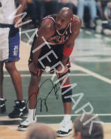 MICHAEL JORDAN /& MAGIC JOHNSON DUAL SIGNED 12X18 INCH POSTER PHOTO AWESOME!!!