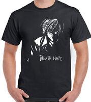 Death Note Japanese Anime Manga Kira Ryuk Yagami Light shinigami Mens T Shirt