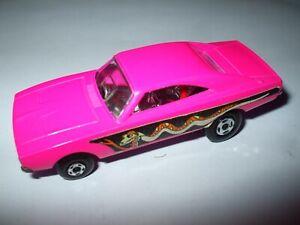 Matchbox Lesney Superfast #70 Dodge Dragster RARE DARK PINK BASE NMINT!