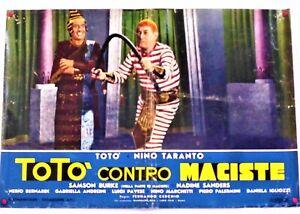poster cinematografico ,Totò contro maciste