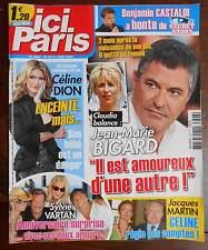 ►ICI PARIS 3347 BIGARD -DION - SYLVIE VARTAN - MARIE LAFORET - ALIZEE - J.MARTIN