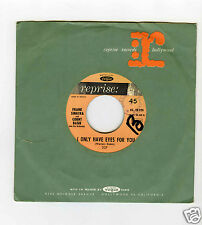 45 RPM SP FRANK SINATRA & COUNT BASIE I ONLY HAVE EYES FOR YOU