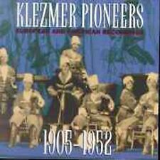 NEW Klezmer Pioneers: European and American Recordings 1905-1952 (Audio CD)