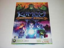 Brochure ~ Kameo: Elements of Power ~ XBOX 360 ~ Advertising
