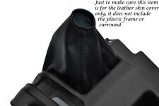 BLACK STITCHING FITS  HONDA ACTY TN REAL LEATHER GEAR GAITER