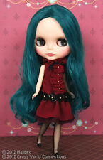 "CWC Takara Top Shop Limited 12"" Neo Blythe Doll Alexis Emerald NRFB"