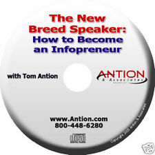 The New Breed Speaker: How to Become an Infopreneur