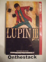 MANGA:   Lupin III Vol. 8 by Monkey Punch (2003, Paperback, Revised)