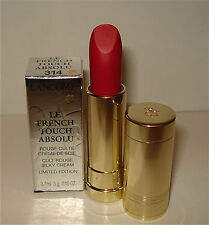 Lancome French Touch Limited Edition Lipstick 314 Rouge Saint - Honore NIB