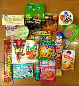 Japanese candy chocolate and snacks 1Kg box / NEW / Direct shipping from Japan