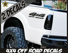 4x4 Truck Bed Decals, GLOSS BLACK(Set) for Ford F-150, Super Duty, F-250 etc.