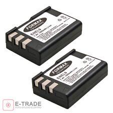 2pcs  1300mah EN-EL9 EN EL9 EN-EL9A Li-ion Battery For Nikon D3000 D5000 D3X D40