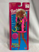 Vintage 1995 Mattel Barbie Tropical Splash Fashions - Coverall, Sunglasses - New