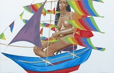 "PHILIP PEARLSTEIN ""MODEL WITH CHINESE KITE"" 2005 