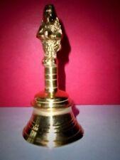 Vintage Dekorative Brass Bell Anruf Dinner Bell Puja Aarti Startseite Temple Rel
