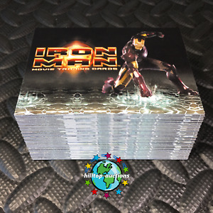 IRON MAN 1 COMPLETE 70-CARD MOVIE TRADING CARDS SET 2008 RITTENHOUSE marvel