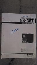 Yamaha ns-35t service manual Original Repair book stereo house speaker system