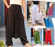 Summer/Beach Loose Fit Regular Size Pants for Women