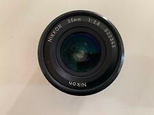 Obiettivo Nikon Nikkor  35mm 1:2.8