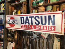Datsun Sales & Service Vinyl Banner