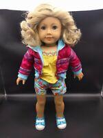 American Girl Doll - Blonde Hair Blue Eyes & Freckles