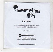(GD399) Theoretical Girl, Red Mist - 2009 DJ CD