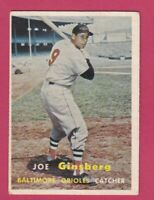1957 Topps # 236 Joe Ginsberg -- Orioles (VG-EX)
