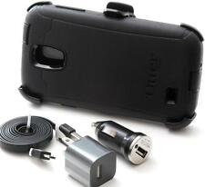 Otterbox Defender Series Case Belt Clip & Holster For Samsung Galaxy S4 - Black