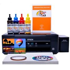 Non OEM Epson L382 sublimation printer package with sublimation design software