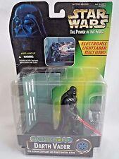 Star wars el poder de la Fuerza Darth Vader con luz brillante Sable