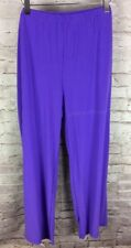 New Antthony Purple Elastic Pants Size 1X