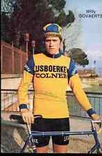 WILLY GOVAERTS Team IJSBOERKE COLNER Signed Autograph cycling signature cyclisme