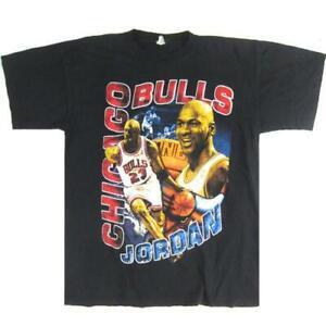 Vintage Chicago Bulls Champs Shirt NBA Basketball Pippen Rodman Jordan TK1967