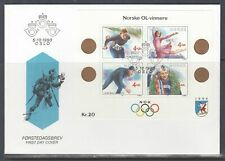 Norway Scott 946 FDC - 1988 Olympis Gold Medalists