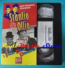 VHS film cartonata STANLIO & OLLIO 1997 I figli del deserto SESTANTE(F95*)no dvd
