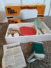 Table Tennis Set Mr. Table Tennis By Harvard, NIB, Complete, Vintage