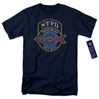 NYPD Highway Patrol Officially Licensed NYC Police Department Adult T-Shirt