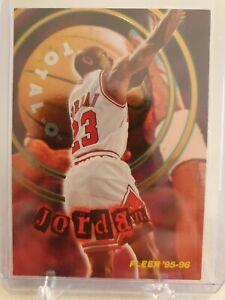 """1995-96 FLEER MICHAEL JORDAN TOTAL """"O"""" INSERT #2 OF 10"""