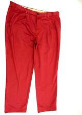 SAVANE Mens Tailored 2U Comfort Waist Pleated Front Sassafras Dress Pants  42x32