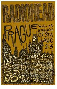 Radiohead Rock Music Digital Art Poster Print T1268 |A4 A3 A2 A1 A0|