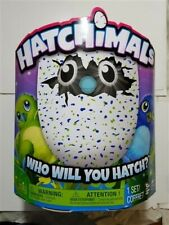 Hatchimals Draggles Blue/Green Egg Electronic Plush Toy - Brand New Spin Master
