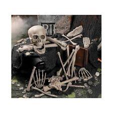 Halloween Bag Skeleton Bones Prop Decoration 28 Piece Set Haunted House Decor