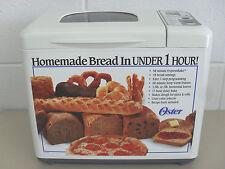 Oster 58 Minute ExpressBake™ Breadmaker Model #5834 Makes 1.5 - 2 Lb Horizontal