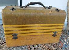 Antique Vintage Case Zenith radio Wavemagnet Picnic Tube Radio