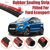 Car Seal Strip Kit Rubber Weather Draft Wind Noise Reduction For Ford Ecosport