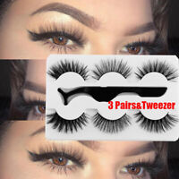 Handmade Lashes Natrual Long False Eyelashes Eye Lash Extension 5D Mink Hair